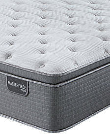 Serta Masterpiece George 15.75'' Luxury Firm Euro Pillow Top Mattress - Queen, Created for Macy's