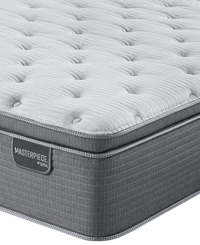 Serta Masterpiece George 15 75 Luxury Firm Euro Pillow Top Mattress Full Created