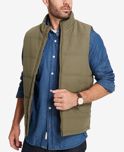 Weatherproof Vintage Men's Quilted Puffer Vest, Created for Macy's