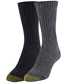 Women's 2-Pk. Crossroads Boot Socks