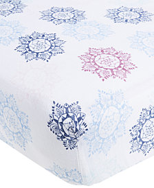 aden by aden + anais Cotton Pretty Printed Crib Sheet, Baby Girls