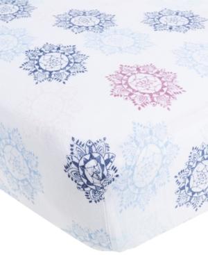 aden by aden  anais Cotton Pretty Printed Crib Sheet Baby Girls (024 months)