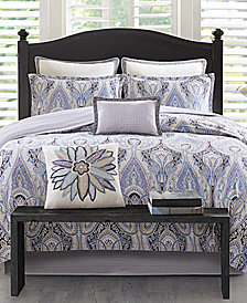 Echo Design Ivy Paisley Cotton Reversible 3-Pc. King/California King Duvet Cover Set