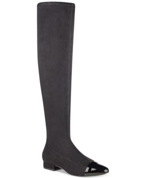 Alie Thigh-High Boots Women'S Shoes in Black