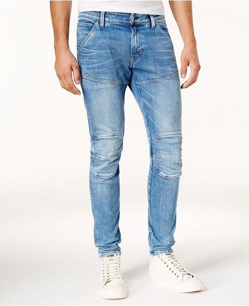 Men's 5620 Super Slim Light Aged Stretch Jeans