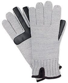 Isotoner Men's smartDRI® smarTouch® Knit Gloves
