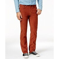 Levi's Mens 514 Straight Fit Bedford Corduroy Pants