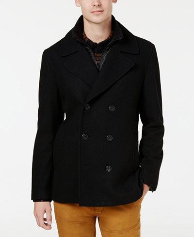 American Rag Men's Peacoat, Created for Macy's - Coats & Jackets ...