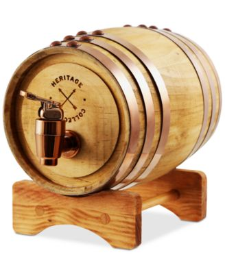 studio mercantile whiskey barrel dispenser u0026 stand created for macyu0027s