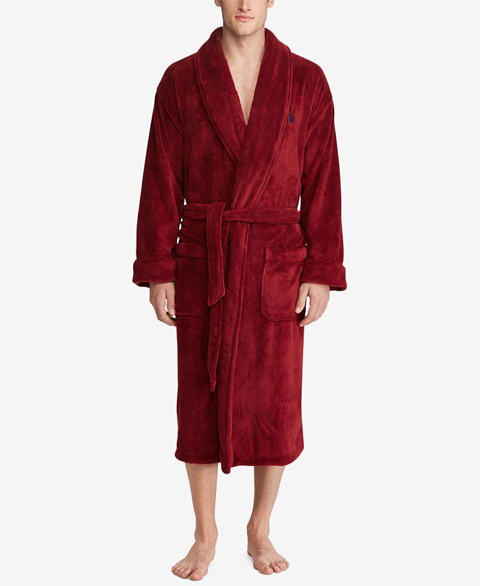 Polo Ralph Lauren - Men's Plush Shawl-Collar Robe