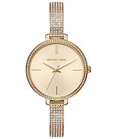 Women's Jaryn Gold-Tone Stainless Steel Bracelet Watch 36mm