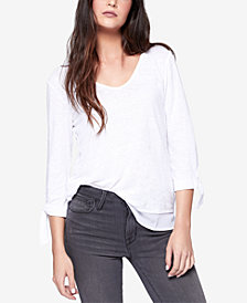 Sanctuary Tie-Sleeve Top