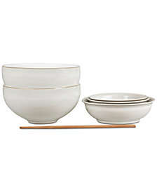 Charmant Denby Natural Canvas 7 Pc. Asian Set