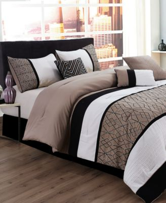 Sergio 7-Pc. Queen Comforter Set