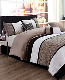 Sergio 7-Pc. California King Comforter Set