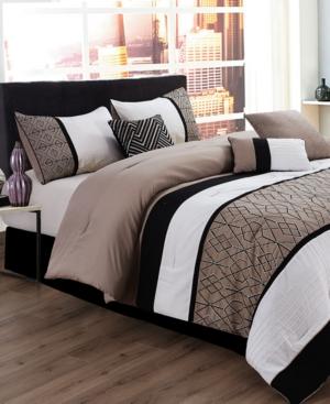 Sergio 7-Pc. Queen Comforter...