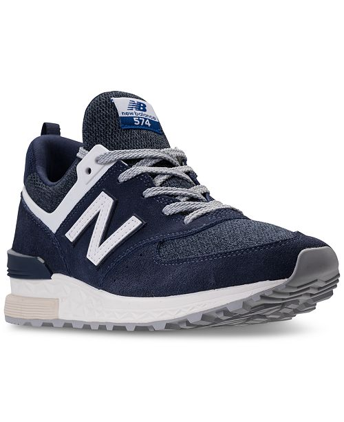 newest fed04 c8bd9 New Balance Men's 574 Fresh Foam Casual Sneakers from Finish ...