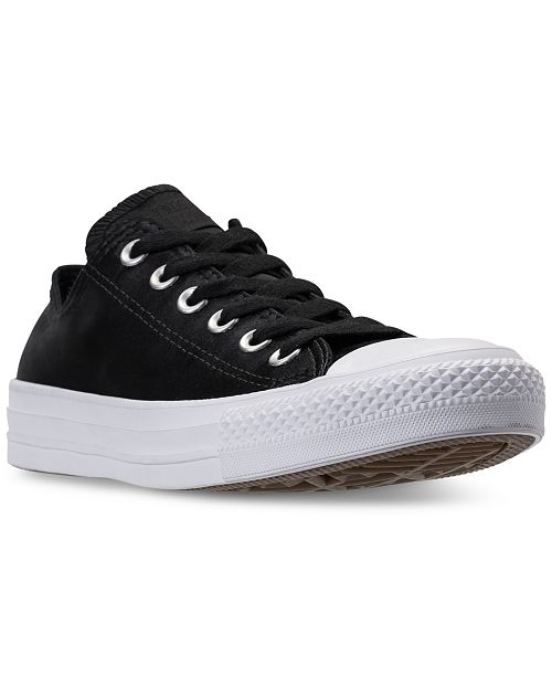 f1c67780de08 ... Converse Women s Chuck Taylor Ox Satin Casual Sneakers from Finish ...
