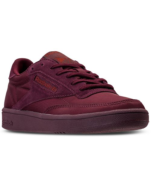 1d6173d6b1f34 Reebok Women s Club C 85 Soft Casual Sneakers from Finish Line ...