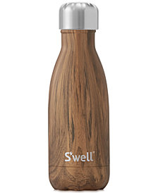 S'Well® 9-oz. Teak Wood Water Bottle