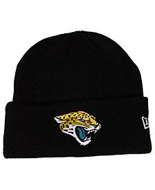 New Era Jacksonville Jaguars Basic Cuff Knit Hat
