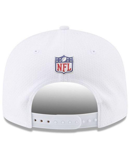 fc987bb7 New Era New Orleans Saints On Field Color Rush 9FIFTY Snapback Cap ...