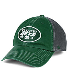 '47 Brand New York Jets Transistor CLEAN UP Cap