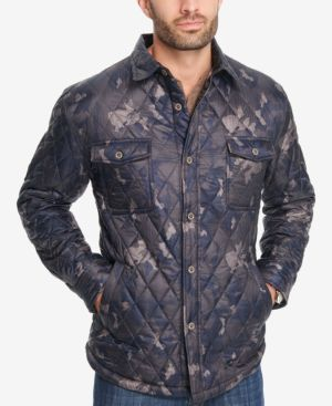 Weatherproof Vintage Men's Quilted Camouflage Jacket, Created for Macy's 4925802