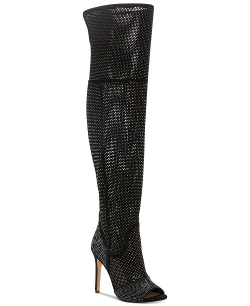 a0dff4864ad Vince Camuto Kamorina Rhinestone Over-The-Knee Boots   Reviews ...