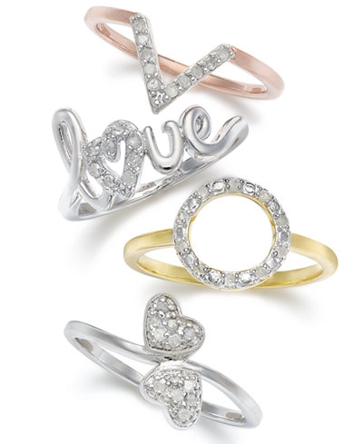 Diamond Ring Collection (1/10 c.t.t.w)