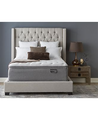 Serta Closeout Masterpiece William 17 Luxury Firm Euro Pillow Top