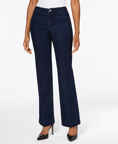 Charter Club Tummy-Control Trouser Jeans, Created for Macy's
