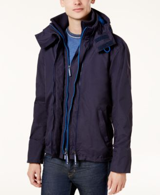 Can you remove the hood on a superdry polar windcheater?