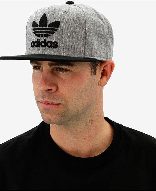 ... Hat  adidas Men s Originals Flat-Brim ... 14ba35b02ba