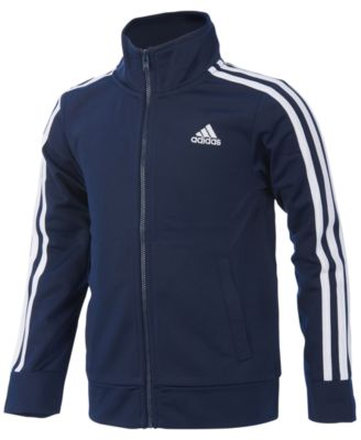 Image of adidas Full-Zip Athletic Jacket, Big Boys (8-20)