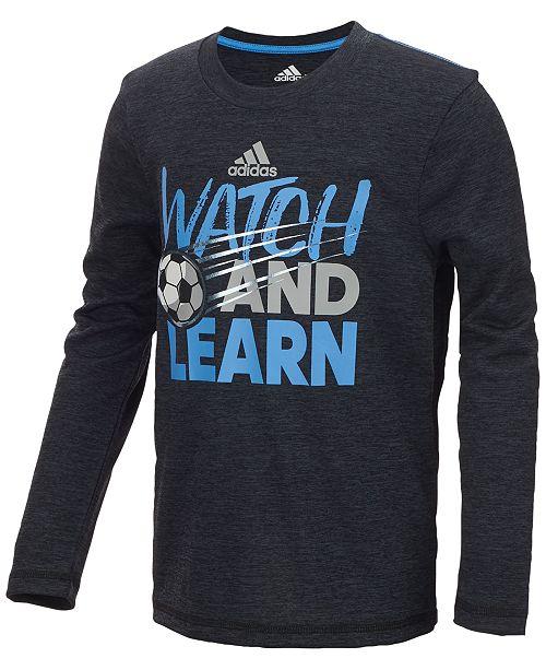 Watch Graphic-Print Shirt, Little Boys