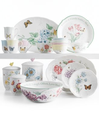 Lenox Serveware Butterfly Meadow Collection  sc 1 st  Macy\u0027s & Lenox Serveware Butterfly Meadow Collection - Dinnerware - Dining ...