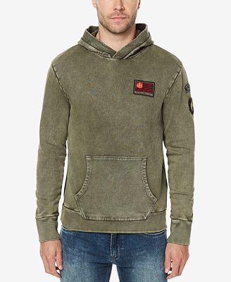 Buffalo David Bitton Men's Vintage Pullover Hoodie - Hoodies ...