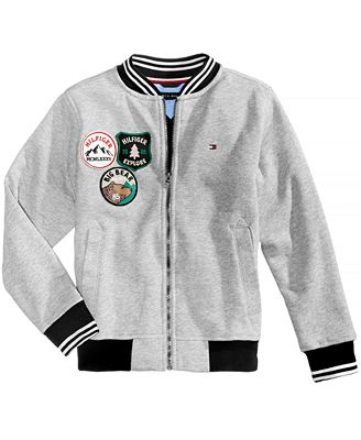 Tommy Hilfiger Baseball Patch Jacket, Toddler Boys (2T-5T) - Coats ...