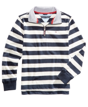 Tommy Hilfiger Striped Cotton Rugby Sweater Toddler Boys (2T5T)