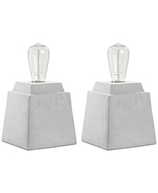 Opal Set of 2 Table Lamps