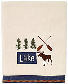 Avanti Lakeville Cotton Embroidered Bath Towel