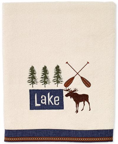 Avanti Lakeville Cotton Embroidered Bath Towel