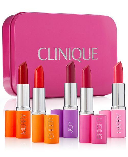 Clinique 5 Pc Pick Your Party Lipstick Set Created For Macys