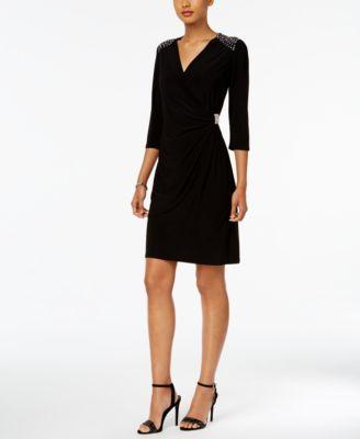 R m richards black dress maternity