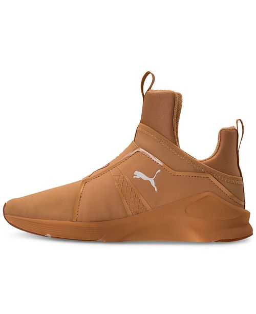 9a4975338ac072 Puma Women s Fierce Nubuck Naturals Casual Sneakers from Finish Line ...