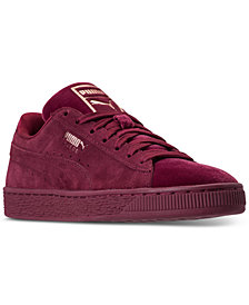Puma Women's Suede Classic Velvet Casual Sneakers from Finish Line