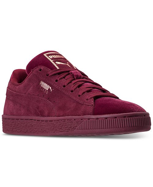 pretty nice 5c22e c4baa Puma Women's Suede Classic Velvet Casual Sneakers from ...