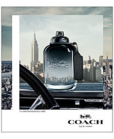 COACH FOR MEN Fragrance Collection