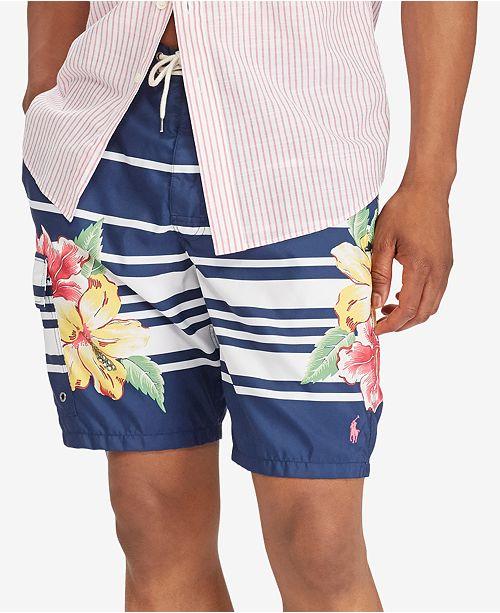 ec5597bedc Polo Ralph Lauren Men's Big & Tall Kailua Swim Trunks & Reviews ...